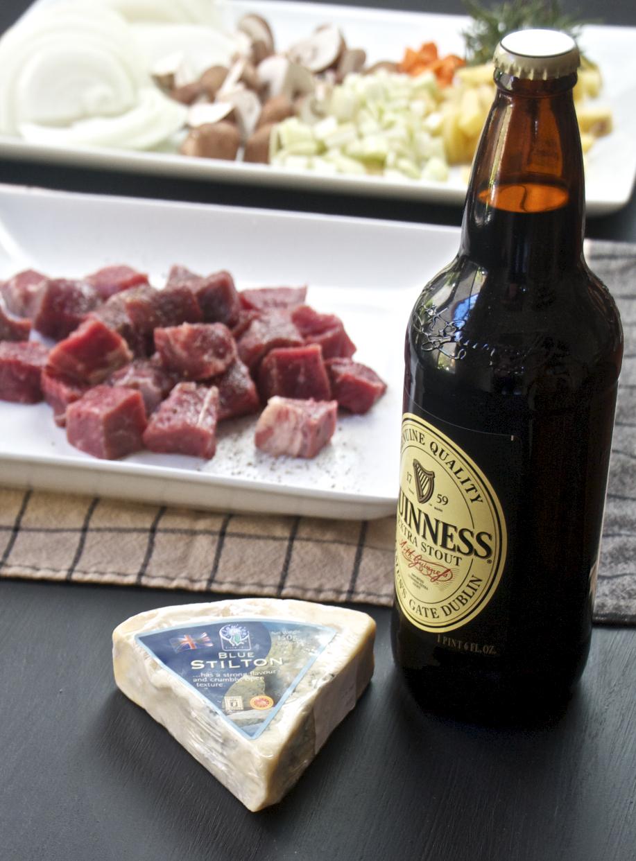 Steak & Guinness Pie - Sass & Veracity
