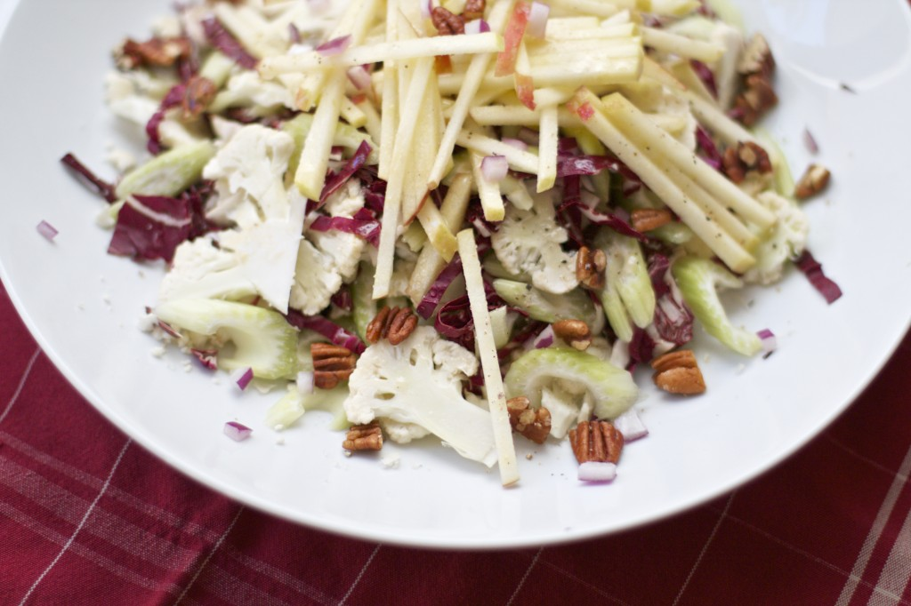 radicchio salad recipe saveur shaved cauliflower and radicchio salad ...